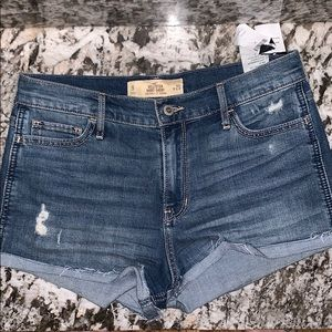 Abercrombie high rise shorts size 9